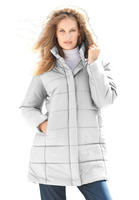 Quilted Short Parka @ Roaman's