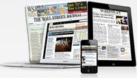 $12for The Wall Street Journal 12 Weeks Subscription (New Customer Only)