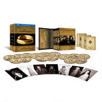 The Lord of the Rings Trilogy Extended on Blu-ray