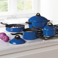 7-Pc. Carbon Steel Non-Stick Cookware Set
