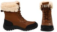 UGG Leather Adirondack Boot II for Ladies w/ Sheepskin Lining