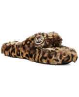 5954a467e0a9 MICHAEL Michael Kors Jet Set MK Faux-Fur Slippers or Thong Slippers ...