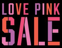 61ac6db1d1f48 Love Pink Sale @ Victorias Secret From $3.99 - Dealmoon