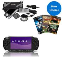 Sony PSP 3000 Slim Handheld System w/ 3 Games $99 - Dealmoon