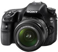 Sony Alpha 20MP DSLR Camera w/ 18-55mm Lens