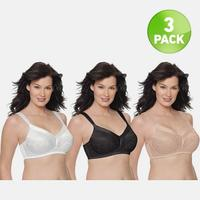 Playtex 18-Hour Gel Bra 3-Pack