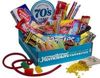 Hometown Favorites Decade-Themed Candy Boxes