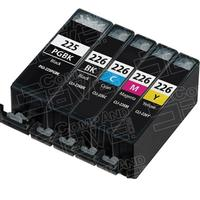 Canon-Compatible PGI-225 / CLI-226 Inkjet Cartridge 5-Pack