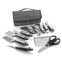 Wolfgang Puck 12-Piece Elite Prep & Garnish Set (Includes Storage Case)