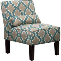 Carson Upholstered Accent Slipper Chair