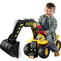 Fisher-Price Big Action Dig N Ride Excavator Ride On