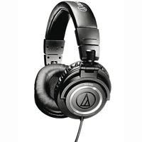 $99Audio-Technica ATH-M50 Professional Studio Monitor Headphones with Coiled Cable