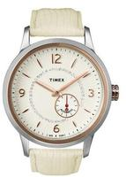 Timex Women's Automatic Rose Gold-Tone Watch T2N352