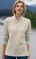 Orvis Women's Button-Neck Cozy Pullover