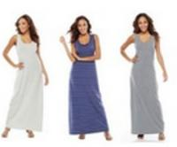 b82fcfe874a 2 Women s SONOMA life + style Maxi Dresses - Dealmoon