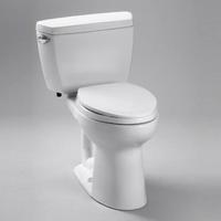 TOTO CST744S Drake Two Piece Elongated Toilet with G-Max Gravity Flushing System