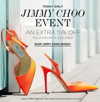 476c7eb9f5f Jimmy Choo Shoe Sale   Bluefly.com One Only! Extra 15% OFF - Dealmoon