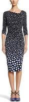 White House | Black Market Women's Geo Print Dress