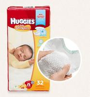 FreeHuggies Little Snugglers Diapers and Wipes Sample