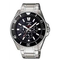 Casio Men's Stainless Steel Watch MDV303D-1A1V