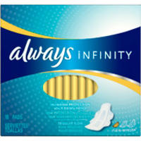 Select Always Infinity Pads @ Walmart com From $3 97 - Dealmoon