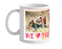 Free 11oz White Mugor Save $15.99 on All Other Mugs @ tinyprints.com