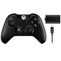 Pre-Owned Microsoft Xbox One Wireless Controller w/ Play & Charge Kit