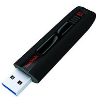 $31SanDisk Extreme USB 3.0 Flash Drive, 64GB, Black