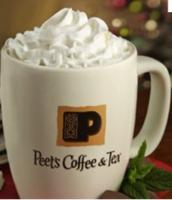 Buy 1 Beverage, Get 1 free@ Peet's Coffee & Tea
