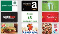 $5 Gift Cardwith 550 Credits Bing Rewards
