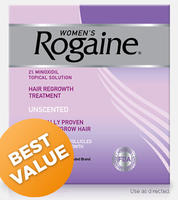 Women's ROGAINE Topical Solution 4 month Auto Delivery @Rogaine