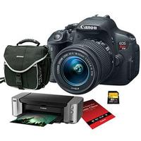 Canon Rebel T5i DSLR Camera with EF-S 18-55(Or 18-135) And