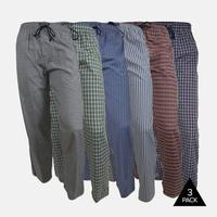 Andrew Scott Woven Lounge Pants 3-Pack