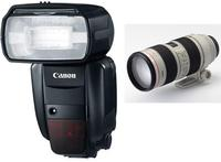 Save Up To 41%Canon 600EX-RT Speedlite for $415, 70-200mm f/2.8L USM Telephoto Zoom Lens ( 2569A004 ) for $1245