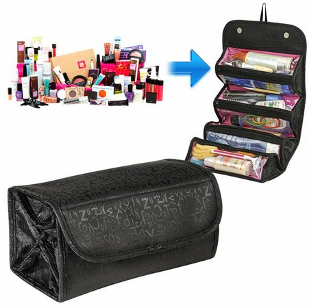 Rollulu Cosmetic Travel Roll Up Bag Organizer @ Tanga