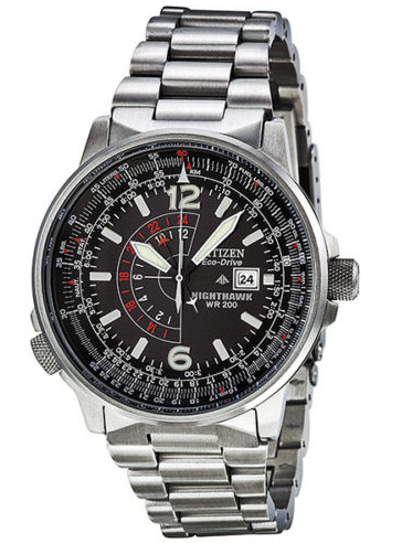376307dedda Expired Citizen Men s Eco-Drive Nighthawk Stainless Steel Watch (BJ7000-52E)