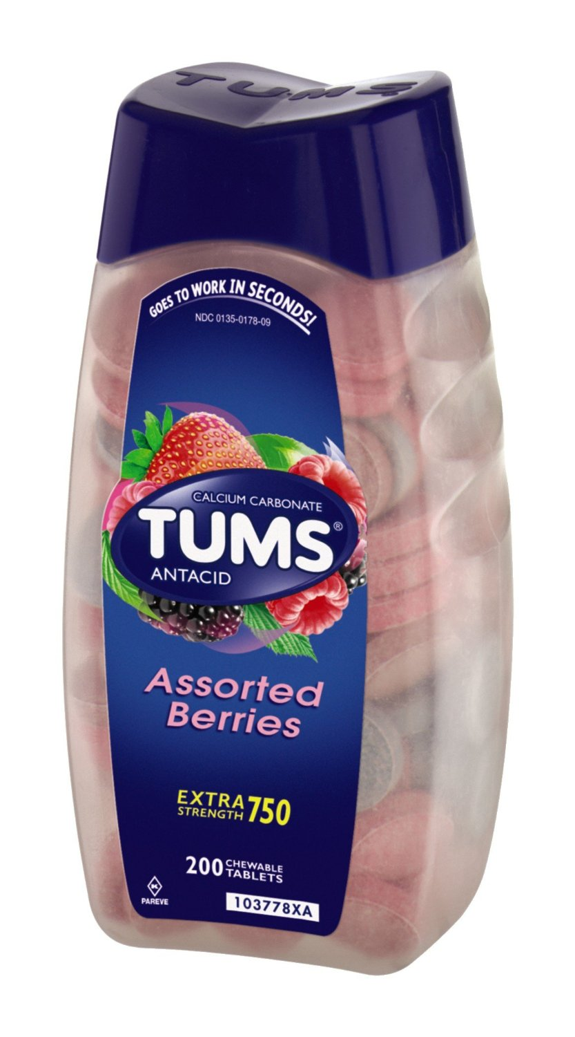 Tums Ex  Assorted Berries  200 Count