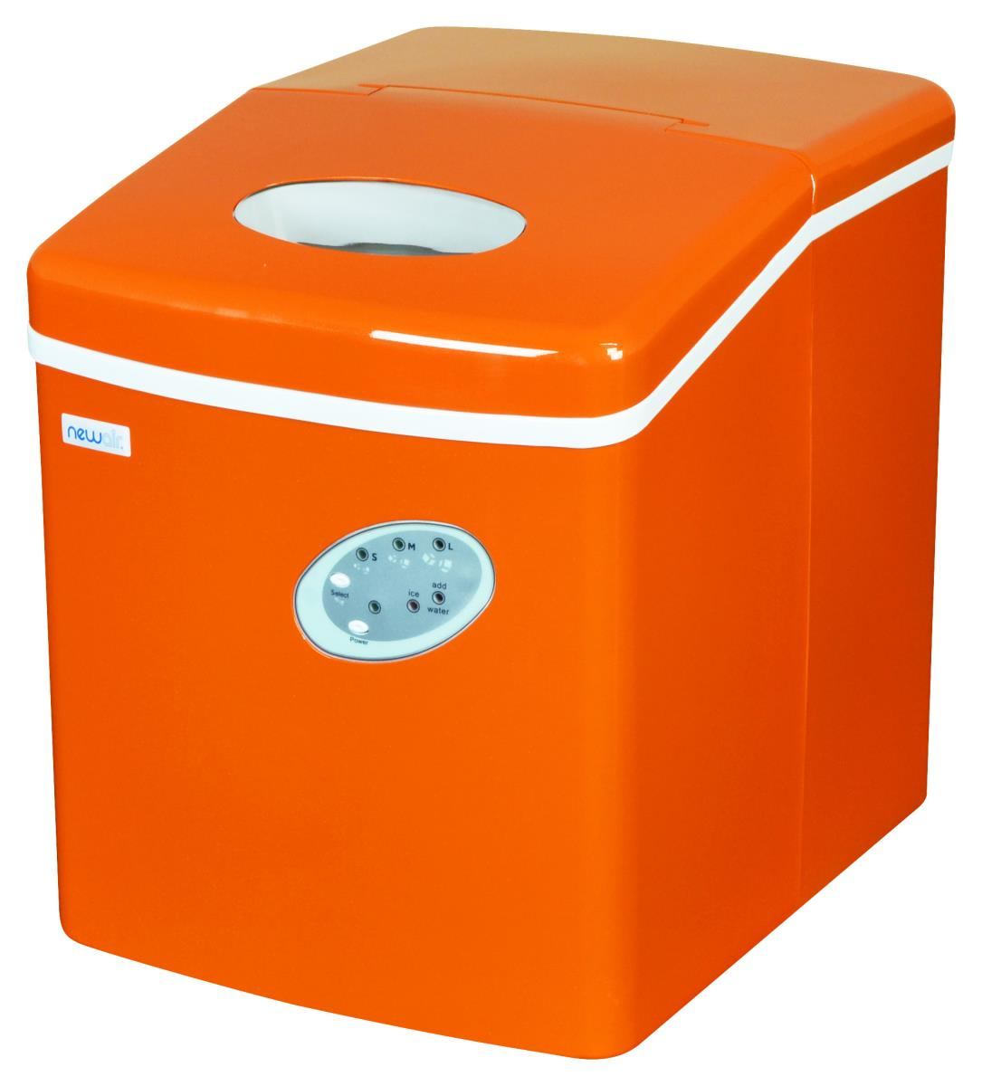 NewAir AI-100VO Orange Portable Ice Maker