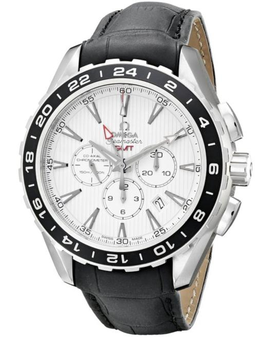 $4395Omega Aqua Terra Men's Chronograph Automatic Watch 231.13.44.52.04.001
