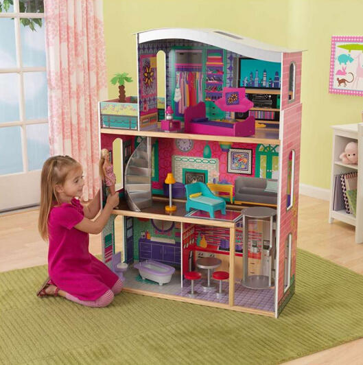 KidKraft Glitter Dream Wood Dollhouse