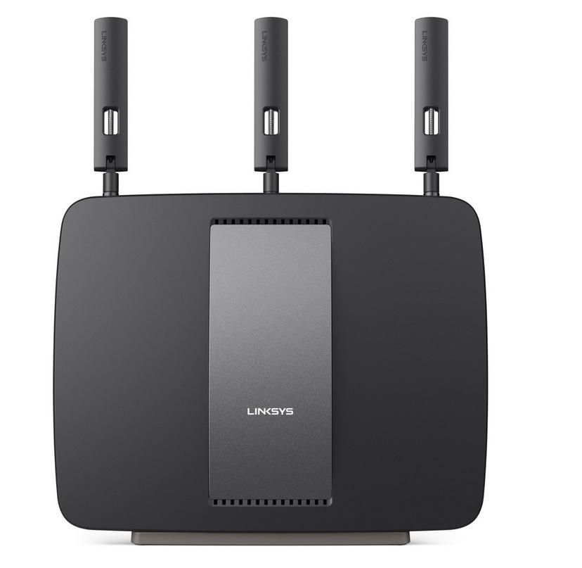 $199Linksys AC3200 Tri-Band Smart Wi-Fi Router with Gigabit and USB