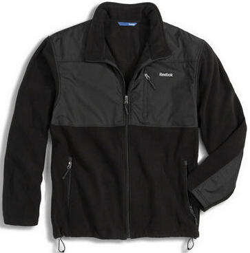 $5Reebok Big Mens Arctic Fleece Jacket