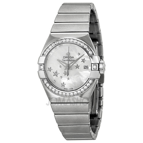 $4495Omega Constellation Ladies' Automatic Watch 123.15.27.20.05.001