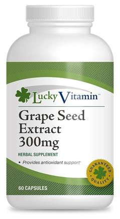 Grape Seed Extract 300 mg (60 Capsules)