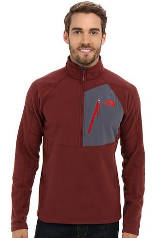 4f8cf6893 The North Face Men's Tech 100 Half-Zip Fleece Jacket - Dealmoon