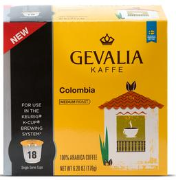$6Gevalia Colombian K-cup coffee 18CT