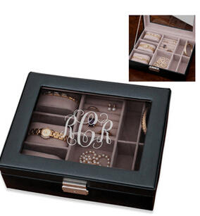 $35Personalized Initial Jewelry Box, A Dealmoon Exclusive