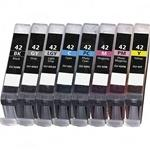 $41.92Compatible Canon CLI-42 (Set of 8) Printer Inkjet Cartridge