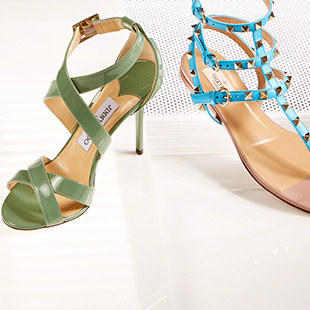 Up to 40% OffValentino & Jimmy Choo Shoes on Sale @ ideel
