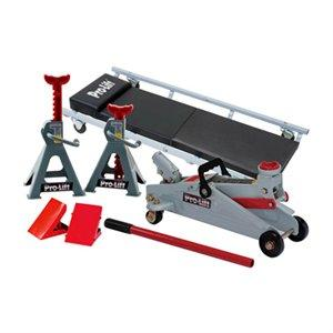 $29.99Auto Floor Jack, 2-Ton, 6-Pc. Kit: Model# F-2332JSC